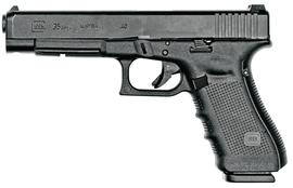 Gen4 Glock 35 .40 Smith & Wesson 5.32 Inch Barrel Black Finish Adjustable Sights Three 15 Round Magazines