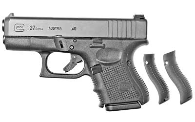 Gen4 Glock 27 .40 Smith & Wesson 3.47 Inch Barrel Black Finish Fixed Sights Three 9 Round Magazines