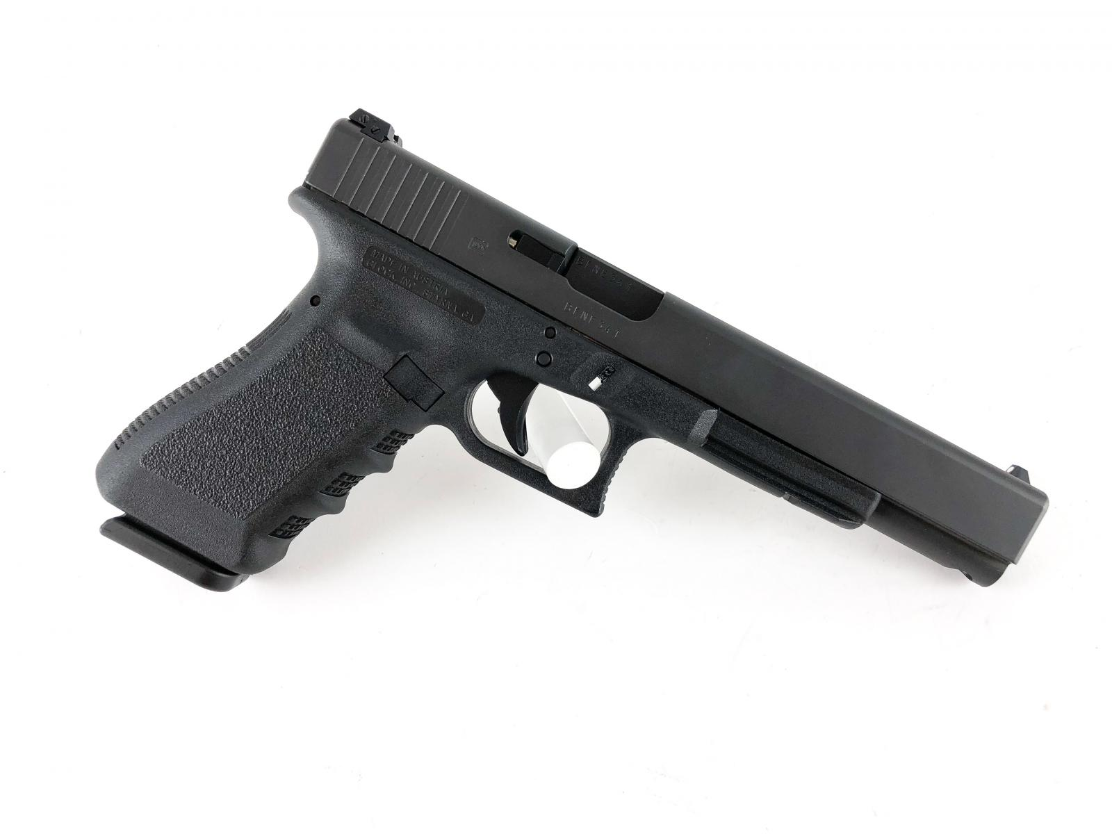 Glock 24 |40S&W 6 Inch Barrel Black Finish Fixed Sights Two 15 Round Magazines
