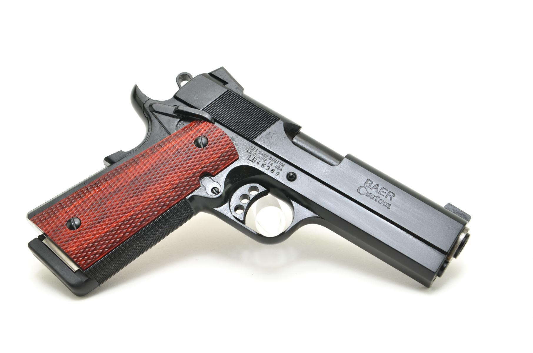 "Les Baer Monolith Commanche Heavyweight 1911 |.45ACP 5"" Barrel, Dupont S Coating, Full Dust Cover, Ambi Safety, Adjustable Rear Sight, 2 Magazines"