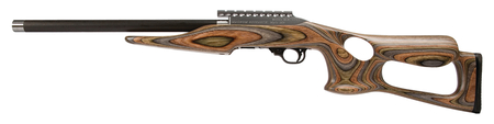 "Magnum Lite .22LR 17"" Barracuda Forest Camo laminated stock uses Ruger 10/22 mags"
