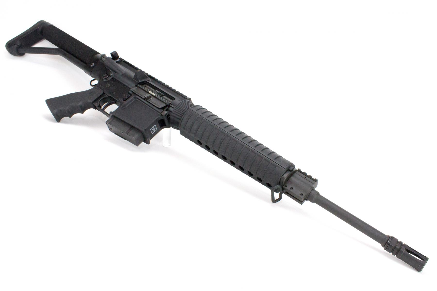 CONSIGNED AR-10 Rifle |.308/7.62x51mm 16 Inch Threaded Barrel 5/8x24 TPI, 1x 10rd Steel Mag - NO CASE