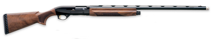 "Montefeltro Sport |12ga 30"" Ported Barrel, 3"" Chamber, Satin Walnut Stock, Extended F, M, IC Chokes & Wrench"