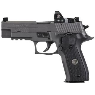 P226 Legion RX |9mm 4.4 Inch Barrel Legion Gray Finish, w/ Night Sights, Romeo 1 Red Dot, SRT Trigger, Three 15-Round Magazines