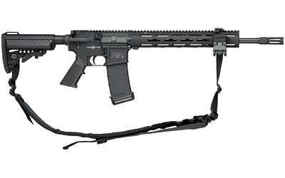 M&P 15 VTAC-II Viking Tactics 5.56mm/.223 Remington 16 Inch Barrel Melonite Finish 6-Position Collapsible VLTOR Stock TRX Handguard Two Rails 30 Round