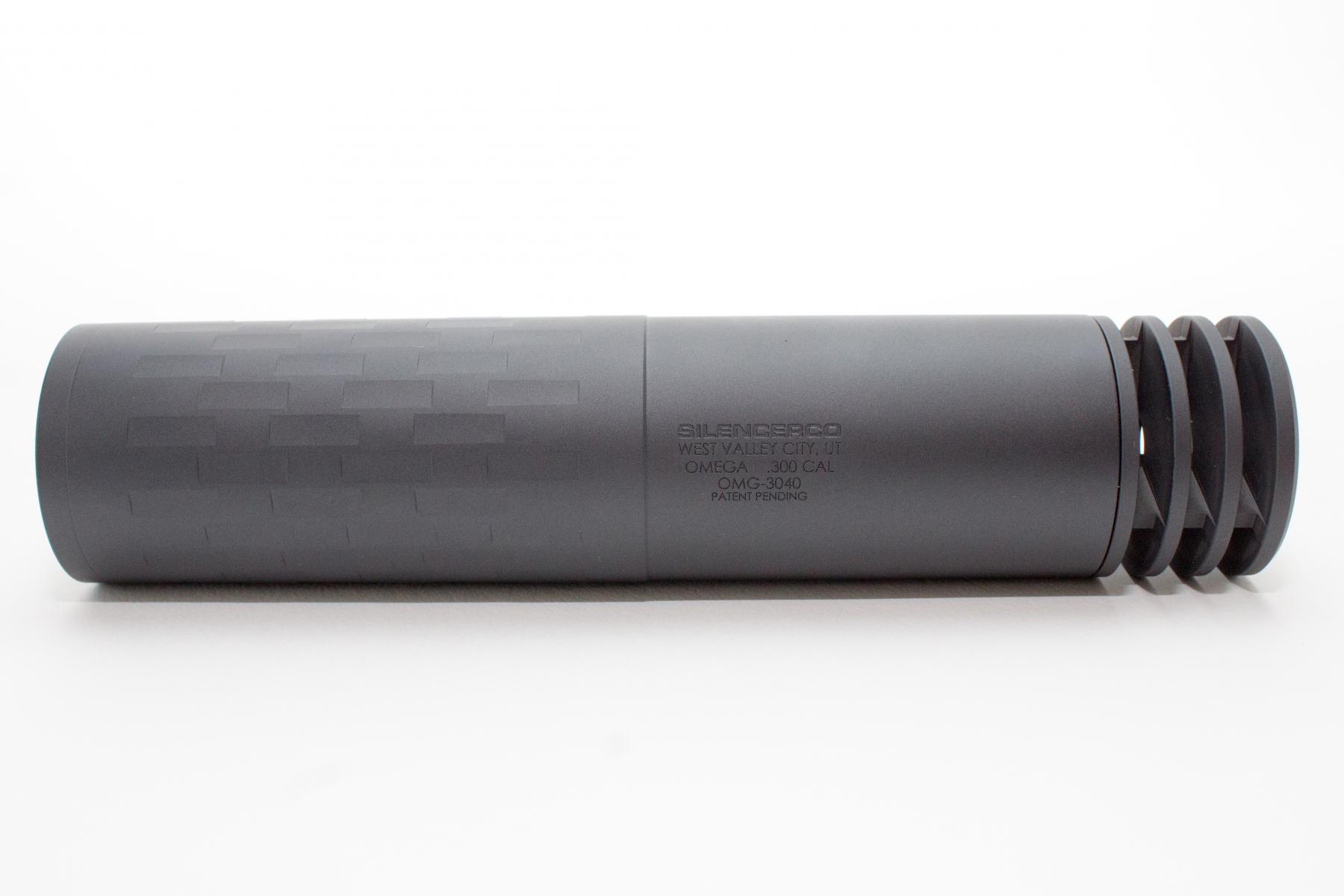 Omega Centerfire Rifle Silencer |With Mount Multi-Caliber 7.09 Inch 1.56 Inch Diameter 14 Ounces - All NFA Rules Apply