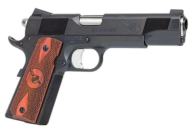 "Les Baer Thunder Ranch Special 25th Anniversary 1911 |.45ACP 5"" Blued Finish, Night Sights, Lowered + Flared Ejection Port, 4# Trigger Pull, Beveled Mag Well, Baer Match Barrel, 3 7-Round Magazines"