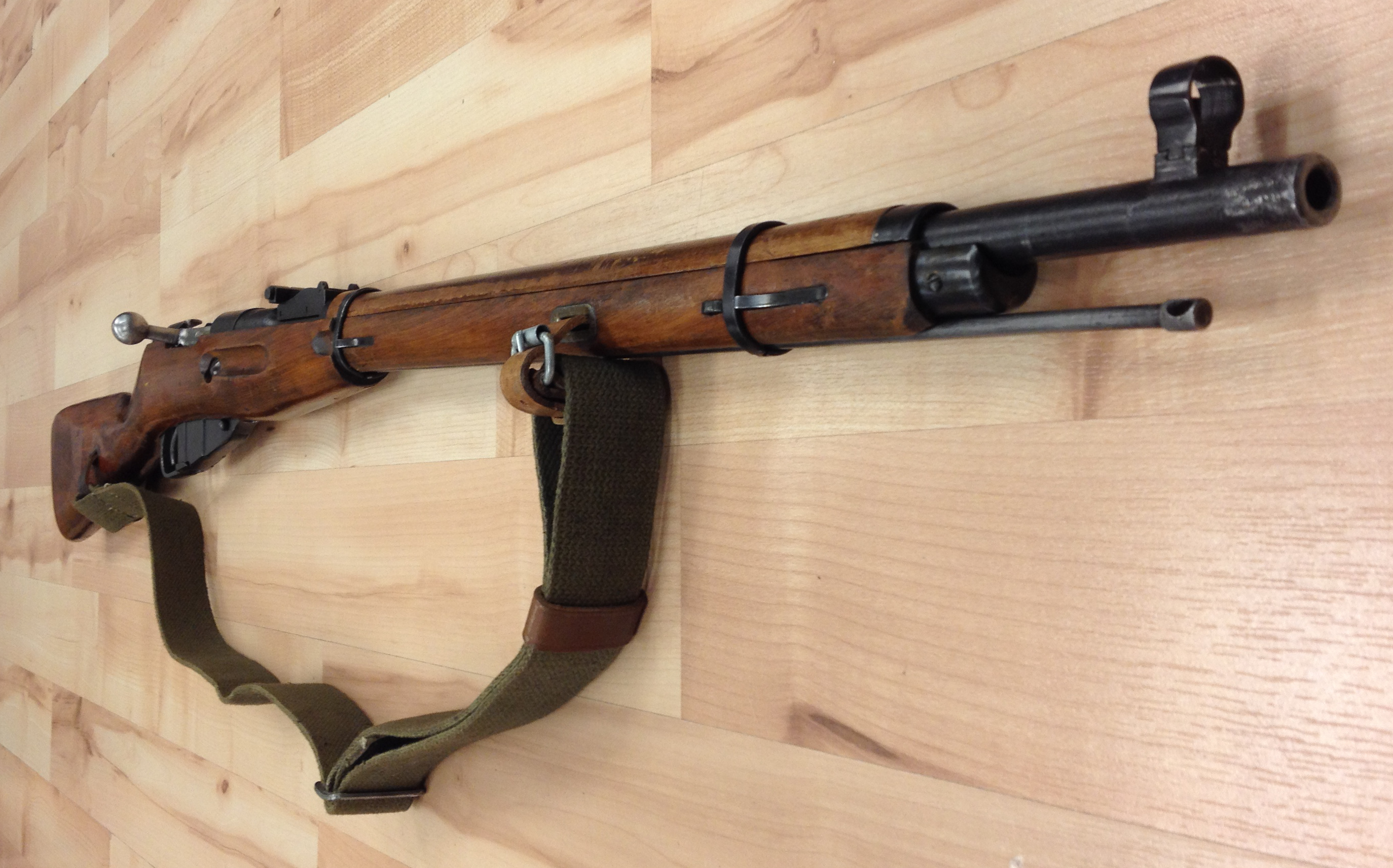 USED Mosin Nagant|7.62x54R, Made in 1943, Includes Sling, Good Condition, No Cosmoline!