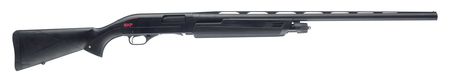 Super X Pump Black Shadow 12 Gauge 3.5 Inch Chamber 28 Inch Barrel Matte Black Finish Brass Bead Front Sight Black Synthetic Stock 4 Round