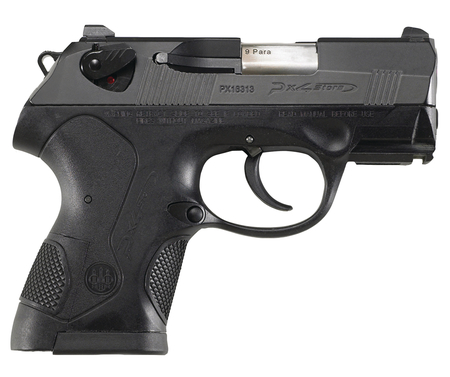 Model PX4 Storm Sub-Compact .40 Smith & Wesson 3 Inch Barrel Bruniton Black Finish Plastic Grips 10 Round