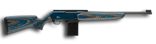 FNAR Competition Rifle 7.62x51mm/.308 20 Inch Fluted Chrome-lined Barrel Blue/Grey Laminated Stock 10 Round