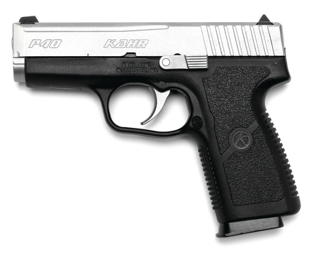 P Series .40 Smith & Wesson Compact 3.6 Inch Barrel Elite Trigger Black Polymer Frame Matte Stainless Steel Slide 6 Round