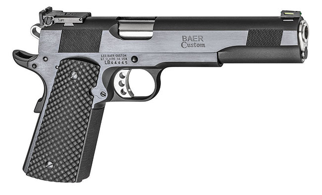 "Les Baer Premier II Longslide Hunter | 1911 6"" Barrel, 10mm, Blued Finish, Adjustable Rear Sight, Fiber Front Sight, 2 9 Round Magazines"