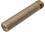 SOCOM260-Ti | END MOUNT SOUND SUPPRESSOR, TITANIUM CONSTRUCTION, FOR USE WITH 6MM/6.5MM/260 CALIBER AMMUNITION, DARK EARTH FINISH