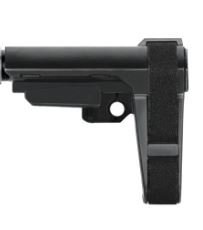 SBA3 Pistol Stabilizing Brace, Adjustable, 5 Position, Black