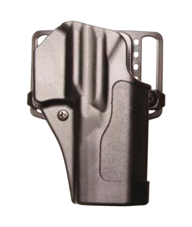 Standard CQC Holster for Government 1911 and Clones With or Without Standard Rail Matte Finish Black Right Hand