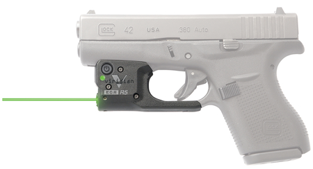 Reactor 5 Green Laser With ECR and Holster For Glock 42 Black