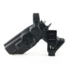 Weber Tactical 2011 3 Gun Holster, Hooded, Double Wrapped Kydex, Black Carbon Fiber/Black, Drilled for Popular Mounts