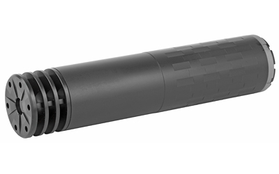 "Omega Rifle Suppressor| 300 Win, 7.09"" Threads, Titanium, 14.0 oz, Black Finish, Comes with a 5/8 x24 direct thread mount, a fast attach Active Spring Retention (ASR) mount complete with a Specwar ASR muzzle brake, and an Anchor Brake SU2281"
