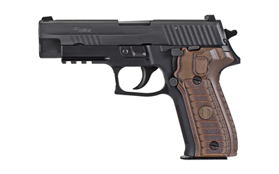 "P226 Select, Semi-automatic, Double Action/Single Action, Full Size, 9MM, 4.4"" Barrel, Alloy Frame, Black Finish, 2 Magazines, SRT Trigger, Decocker, SIGLITE Night Sights, 15Rd E26R-9-SEL"