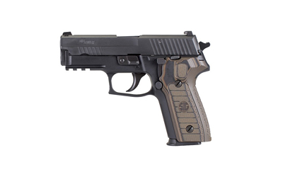 "P229 Select| Semi-automatic, Double/Single Action, Compact Size, 9MM, 3.9"" Barrel, Black Finish Alloy Frame, 2 Mags, SRT Trigger, Siglite Night Sights, 15Rd"