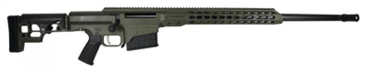 MRAD Multi Role Adaptive Design .338 Lapua 26 Inch Fluted Barrel with OD Green Cerakoted Receiver10 Round