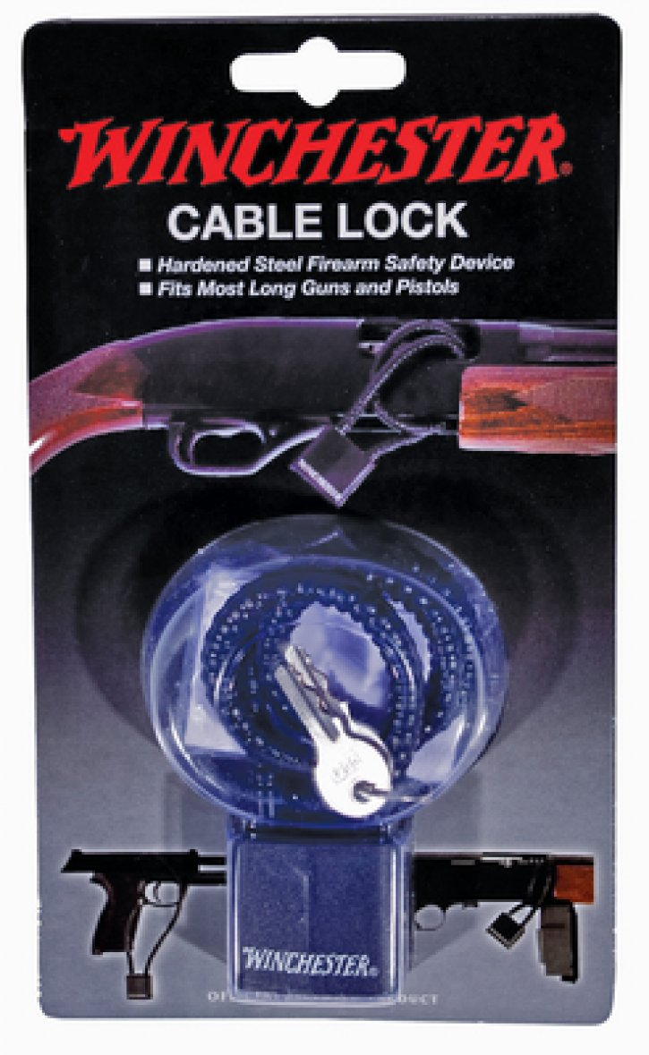 DAC Technologies 761903363035 WINCL Winchester Hardened Steel Cable Lock 15 Inches California Approved