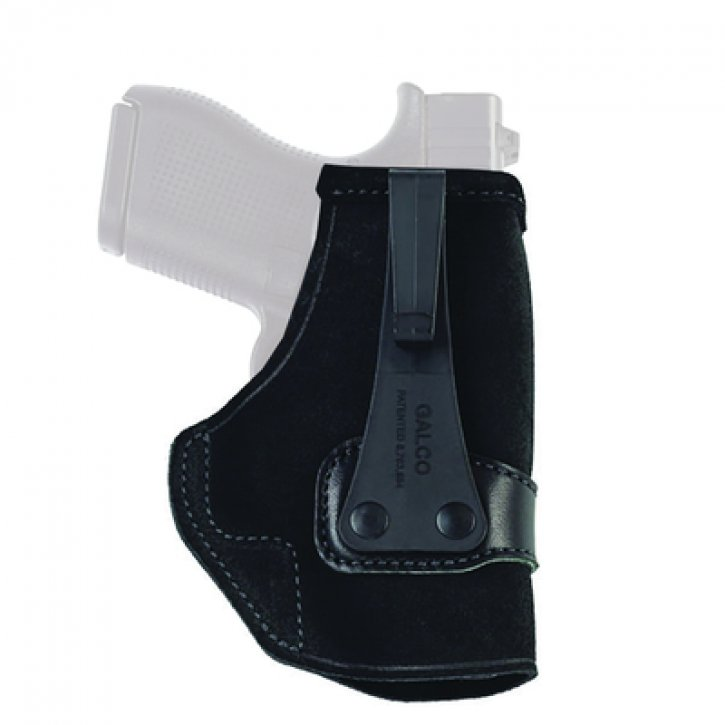 Galco 601299800724 TUC460B Tuck-N-Go Inside the Pants Holster For Kahr MK40 Black Right Hand