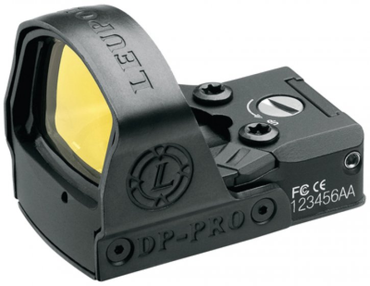 Leupold 030317005917 119687 DeltaPoint Pro Reflex Sight 7.5 MOA Inscribed Delta Reticle Matte Black
