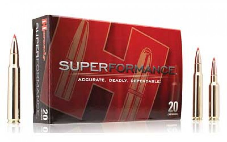 Hornady 090255380255 8025 Superformance Varmint .223 Remington 53 Grain V-Max Box of 20 Rounds