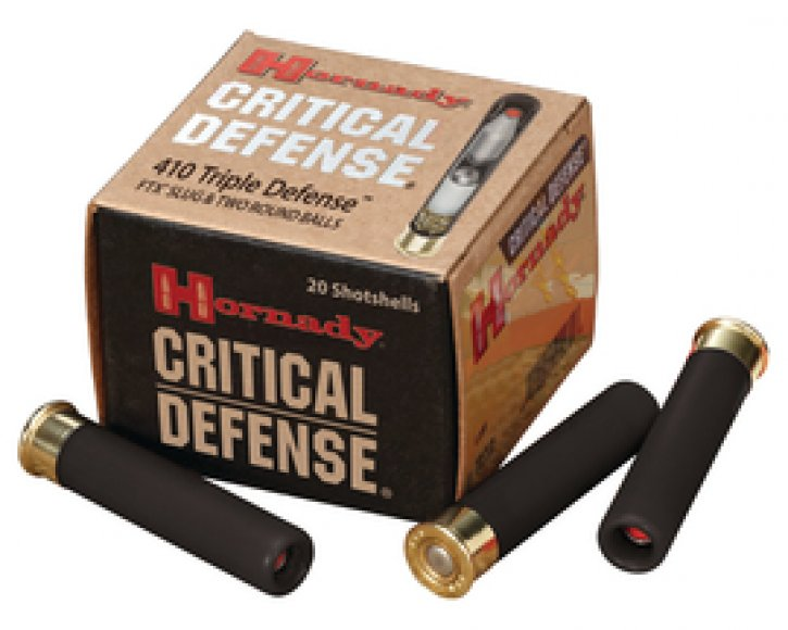 Critical Defense Triple Defense .410 Gauge Slug/Round Ball 2.5 Inch 750 FPS 20 Per Box