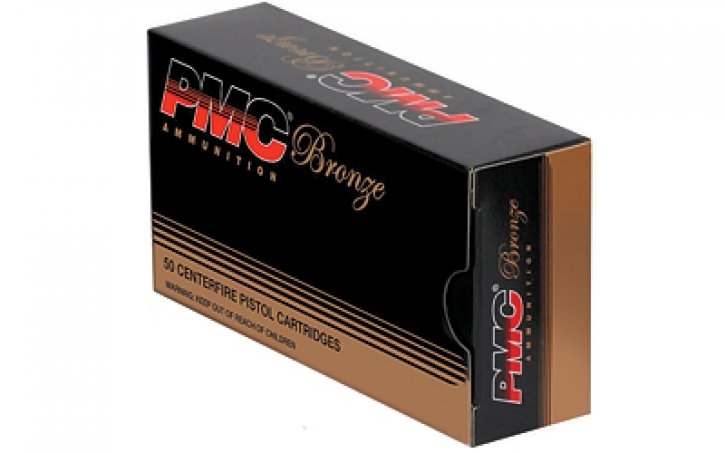 PMC 741569050173 PMC357A Bronze Line .357 Magnum 158 Grain Jacketed Soft Point