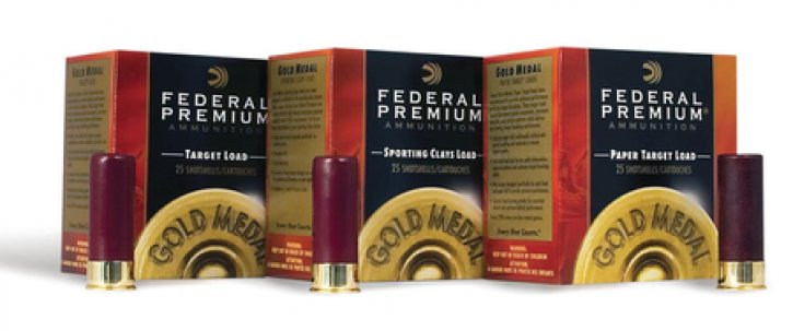 Federal 029465017347 T1188 Gold Medal 12 Gauge 2.75 Inch 1200 FPS 1.125 Ounce 8 Shot