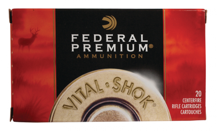 Federal 029465090913 P708B Vital-Shok 7mm-08 Remington 140 Grain Nosler Ballistic Tip