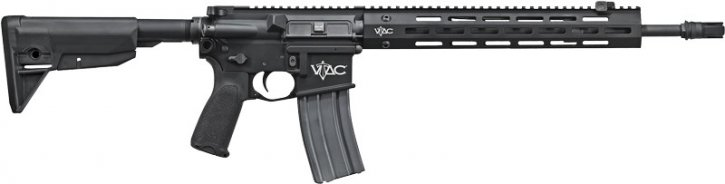 Sig Sauer 798681564675 RM400-16B-VTAC-P SIGM400 VTAC Patrol | 5.56mm NATO 16 Inch Barrel Sig SRD Mount MOE SL Grip and Collapsible Stock VTAC Rail Soft Case Black Finish 30 Round