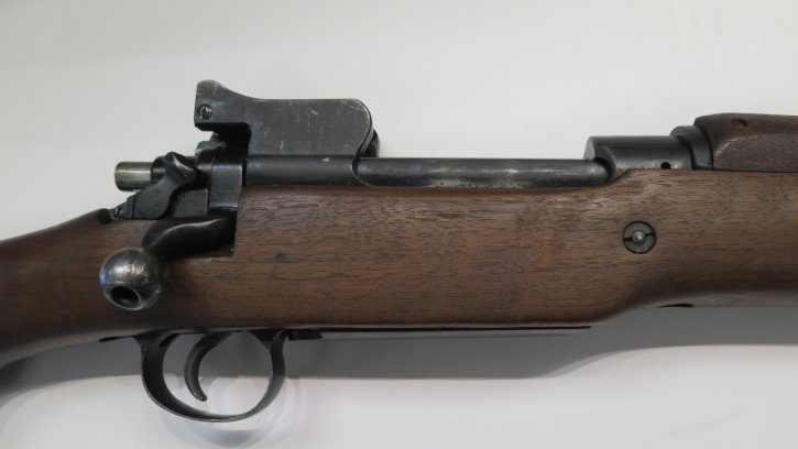 "Remington 324133 1917 CONSIGNED Remington R17 | 24"" Blued Barrel, Wood Stock, Iron Sights,  No Box"