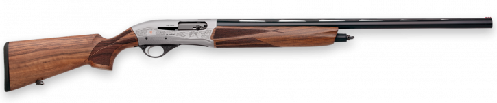 "Fabarm FA01100 FA01100 Fabarm L4S Grey Hunter |12GA 26"" Barrel, 3"" Chamber, Semi-Deluxe Turkish Walnut Stock, 3 Chokes, Custom Soft Case"