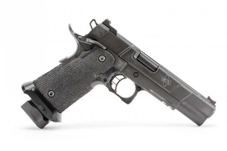 "STI Costa 5.0 2011 |9mm 5"" Barrel, Ambi Safety, Magwell, Heinie Ledge Rear Sight, Fiber Optic Front Sight, 1 17 Rd Magazine"