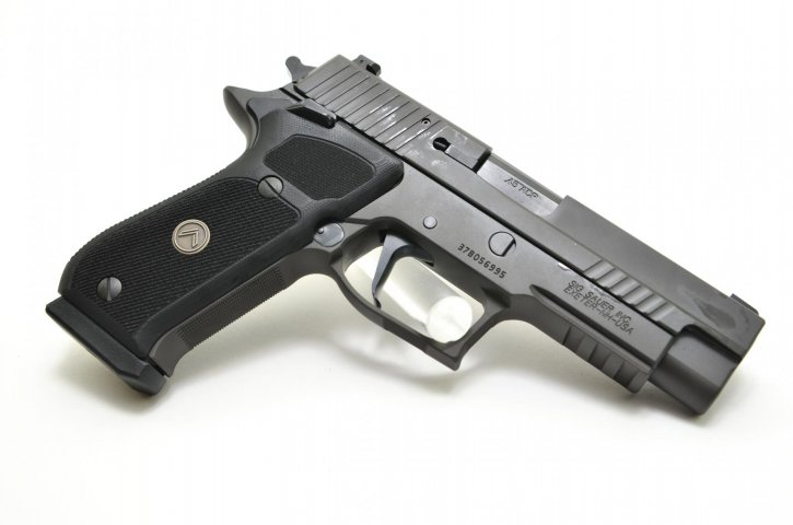 P220 SAO Legion |.45ACP 4.4 Inch Barrel Legion Gray Finish, w/ Night Sights, Single Action Only, G10 Grips, Three 8-Round Magazines