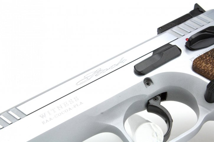 Witness Elite Stock 2 9mm 4.5 Inch Barrel Competition Hard Chrome 17 Round