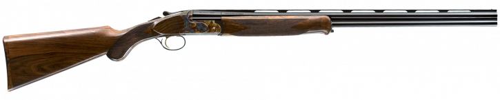 "Caesar Guerini Woodlander |20ga Over/Under 26"" Barrels, 3"" Chamber, Case Colored Receiver, 5 Nickel Plated Flush Fitting Chokes"