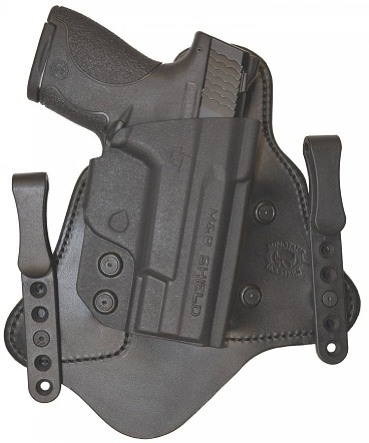 Minotaur MTAC Holster  - Springfield - XDS - Left - 1.5 inch - Black Clips  - Black