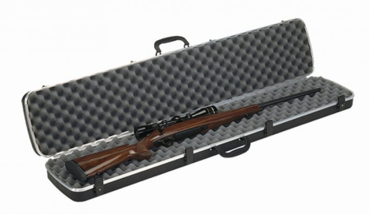 Deluxe Single Rifle Case Black 48.25x10 Inch