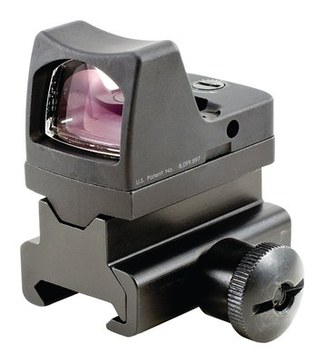 RMR Type 2 Ruggedized Miniature Reflex LED Sight With RM34 Picatinny Mount 3.25 MOA Red Dot Reticle Matte Black Finish