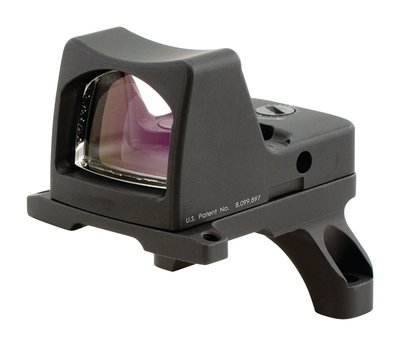 RMR Type 2 Ruggedized Miniature Reflex LED Sight With RM35 ACOG Mount 3.25 MOA Red Dot Reticle Matte Black Finish