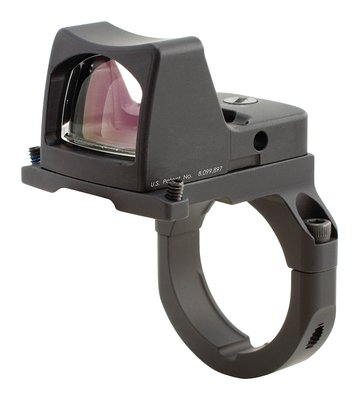 RMR Type 2 Ruggedized Miniature Reflex LED Sight With RM38 ACOG Mount 3.25 MOA Red Dot Reticle Matte Black Finish