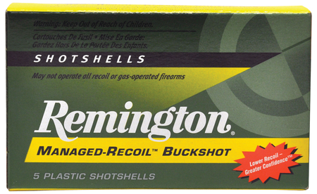 Express Managed-Recoil 12 Gauge 2.75 Inch 1200 FPS 8 Pellets 00 Buck