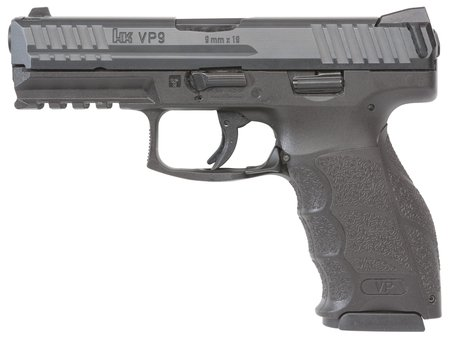 "VP9 w/ Night Sights |9mm Luger 3.86"" Striker Fired, Three 15 Round Magazines"