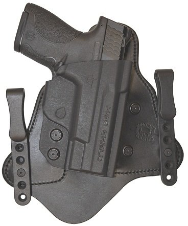Minotaur MTAC Holster - HK - VP9 - Right - 1.5 inch - Black Clips - Black