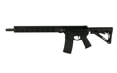 "NC-15, Semi-automatic Rifle, .223 WYLDE/556NATO, 16"" Black Coated Stainless Steel Barrel, 1:8 Twist, Black Finish, Magpul CTR Stock, Magpul MOE Grip, NC Flash Hider, NC Non-adjustable Low-profile .750 Dia Gas Block, NC-3 Freefloat M-LOK Handguard, 15.5"""